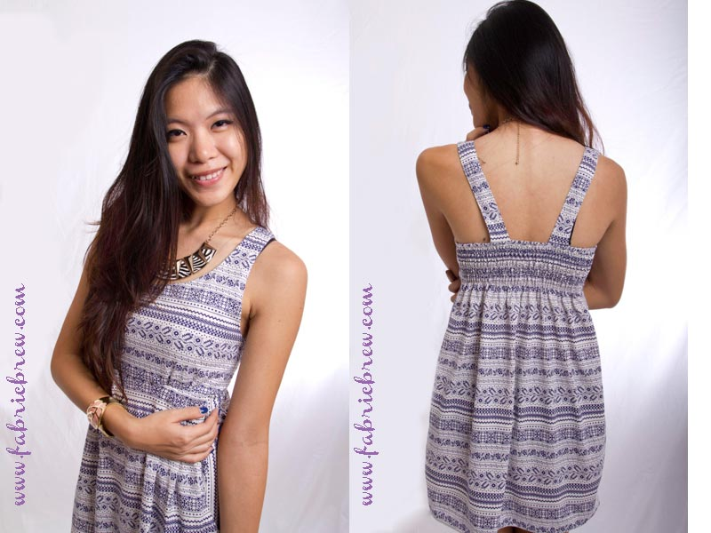 Holiday Sprinkles Dress- blue